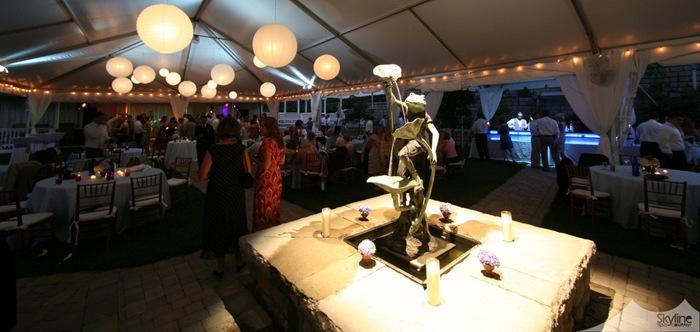 Delfosse Wedding tent.