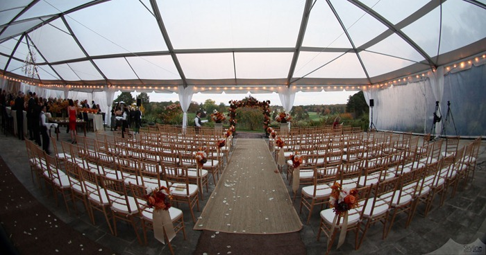 40x100 Cleartop Rain Ceremony