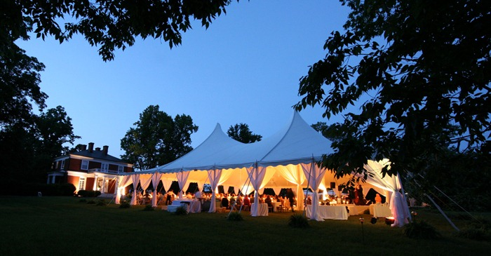 Martha Stewart Wedding by Skyline Tent Company