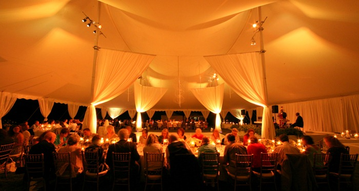MArth Stewart Wedding Skyline Tent