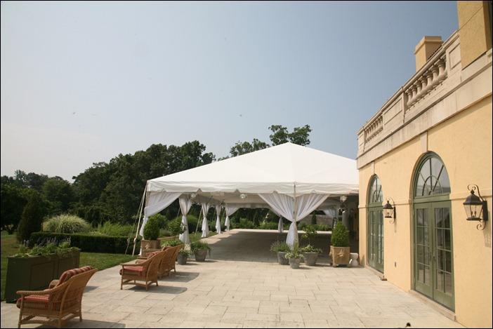 Keswick Hall Tent Pad Skyline Tent Company