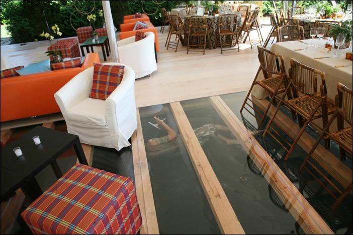 Pickled Birch Floor