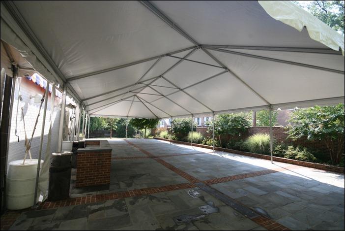 Skyline Tent Alumni Hall UVA
