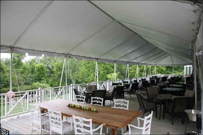 Clifton Inn Skyline Tent Wedding