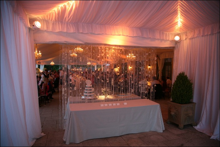 Entrance Tent Keswick Hall Skyline Tent Company