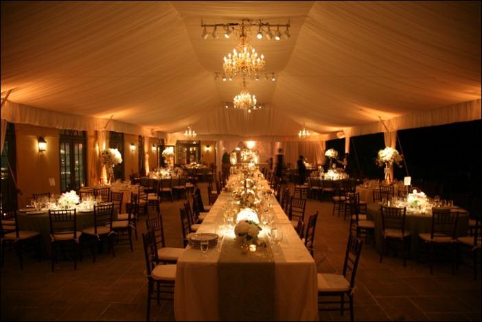 40x100 Tent Liner Keswick Hall Skyline Tent Company