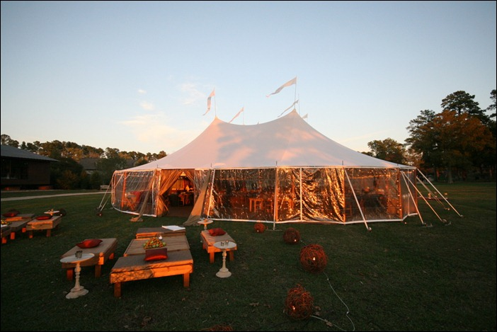 Beehive Events Skyline Tent Martha Stewart