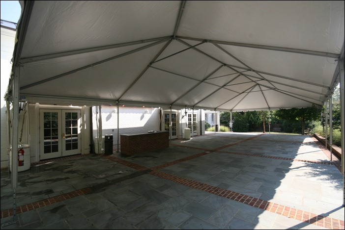 Alumni Hall Tent Skyline Tent Company UVA Alumni Hall