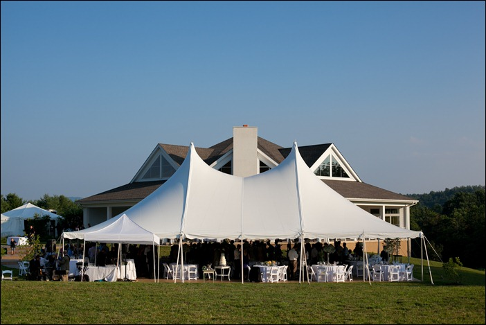 Skyline Tent Pollak Vineyards Tented Wedding