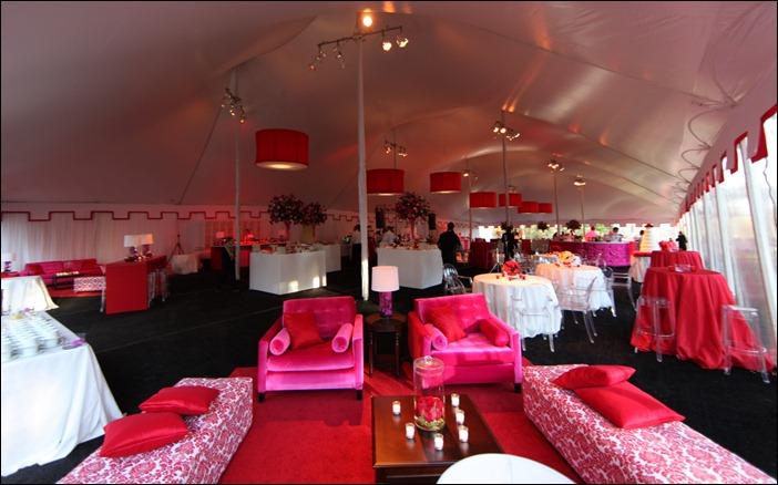Skyline Tent Co Leveled Floor Wedding