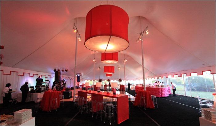Skyline Tent Lighting