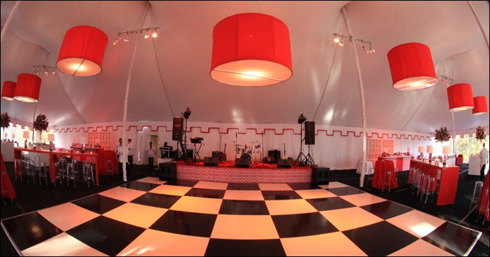 Skyline Tent Dance Floor