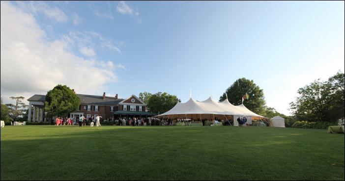 Farmingt Country Club Wedding Skyline Tent Co.