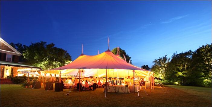 Easton Events Farmington Country Club Skyline Tent Wedding