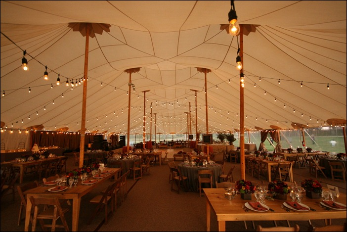 Skyine Tent Jamestown Event with Alsion Events