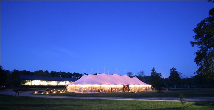 Jamestown Martha Stewart Event with Skyline Tent Company