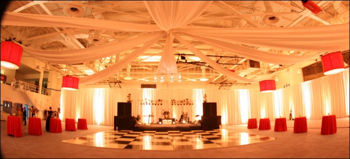 Skyline Tent indoor lighting