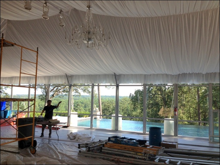 Glass Wall Skyline Tent