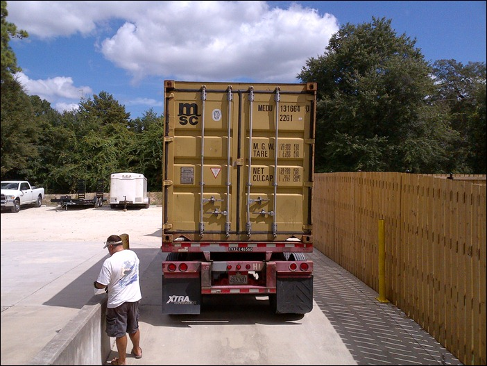 Bahamas Container