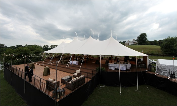 Sperry Tents with viewing deck