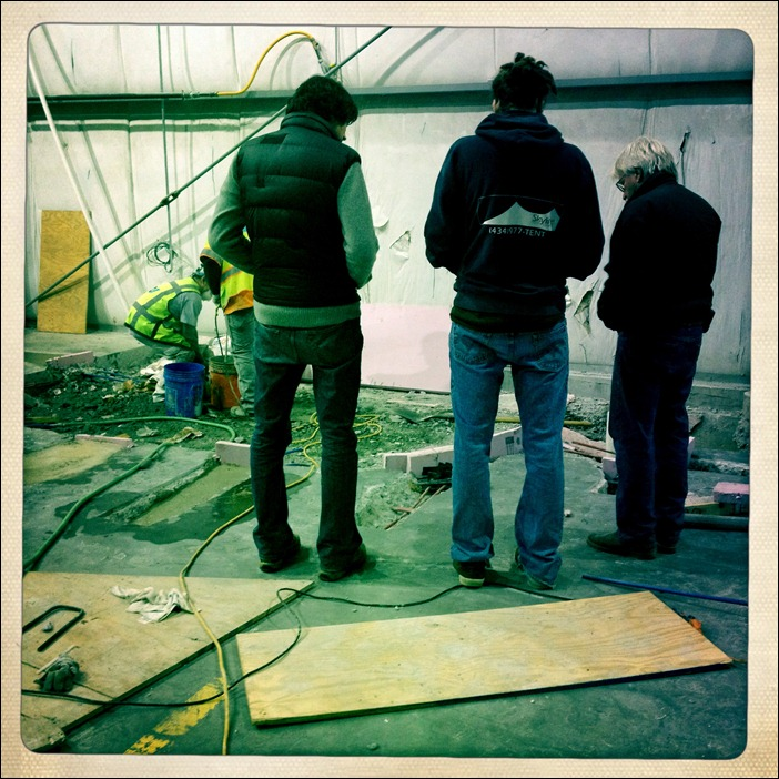 Skyline Tent WH post tensioned slab