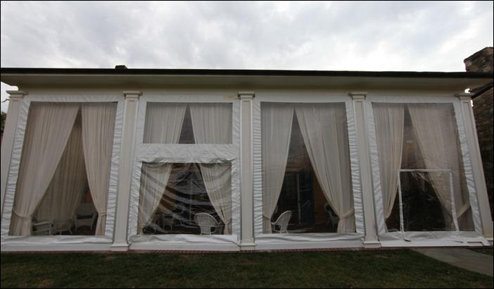 Skyline Tent Custom Sidewall