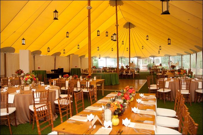 Keswick Vineyards Handmade Sperry Tent