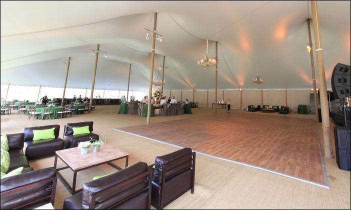 Skyline Tent Comapny Dancefloor