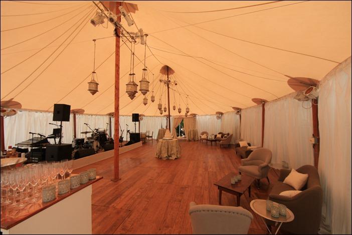 Sperry Tent with Custom pine Floor