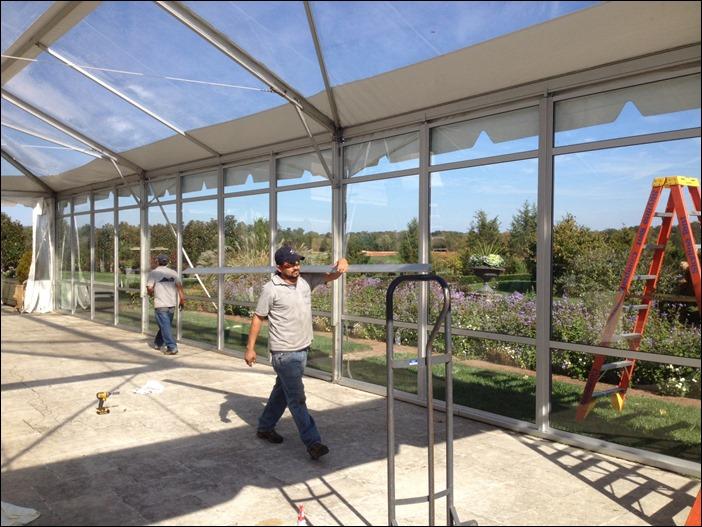 40x100 Glass Walls Navi Trac