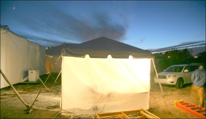 Skyline Tent Comany 10x10 distro tent