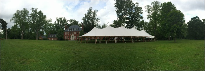 Sperry Tent Westover Plantation Skyline Tent Company