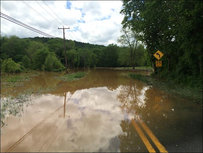 Charlottesville Rain Storm