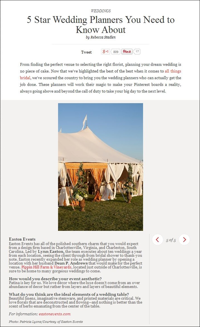 Skyline Tent Vogue Feature