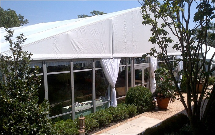Skyline Tent Company VIP with glass walls
