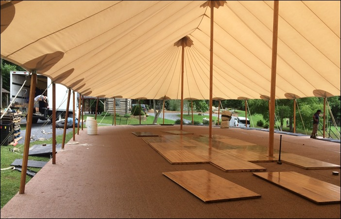 Skyline Tent Company Sept 6th wedding