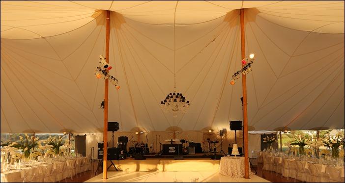 Sperry Tent, High Gloss Floor, White DF