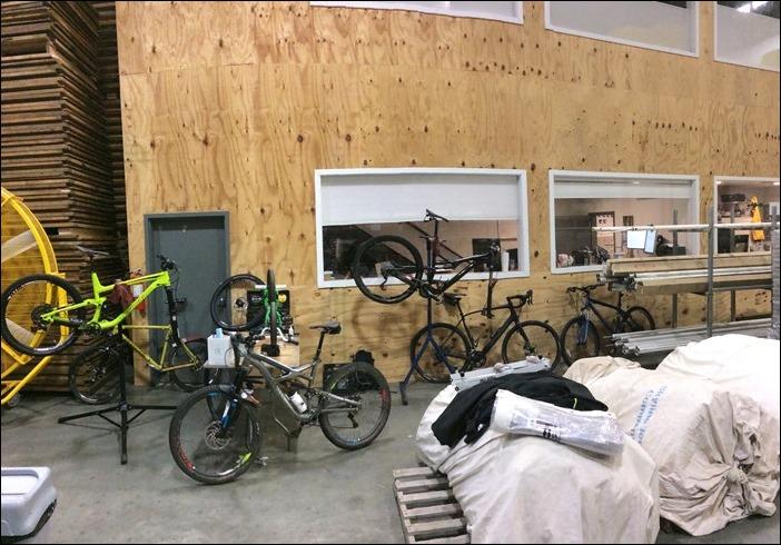 Skyline Tent Bike Team