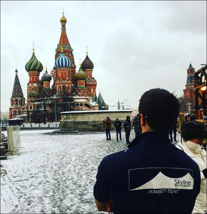 Skyline Tent Russia