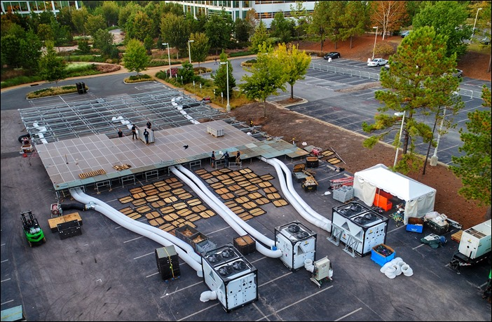 Skyline Tent 25meter Raleigh NC