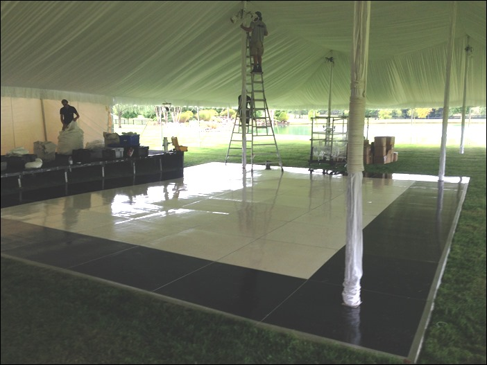 Skyline Tent Company Oreo Cookie Floor