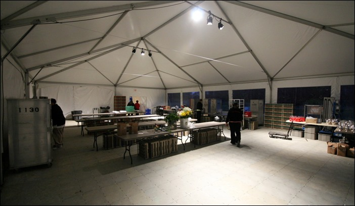 Skyline tent Company Kitchen Tent Flooring
