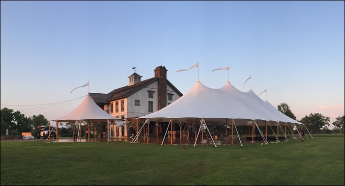 Sperry Tents Alabama wedding