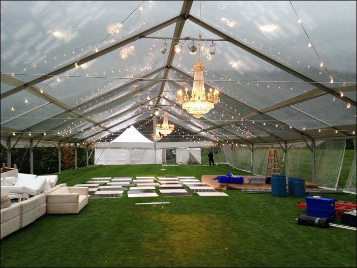 skyline tent company 50x130 clear & The Sky Line: The Homestead Resort