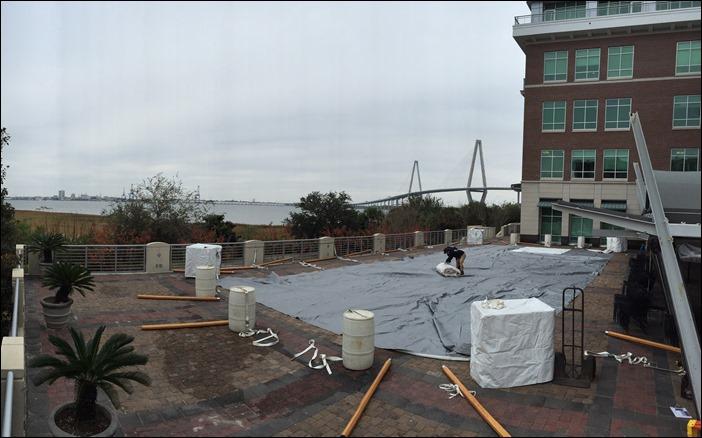 46x105 Sperry Tent Charleston SC