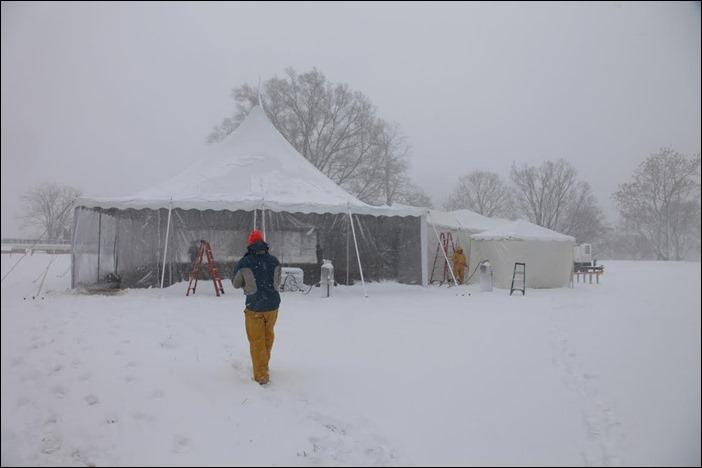 Skyline Tent Snowday